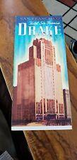 Vintage Sir Francis Drake Hotel San Francisco Travel Brochure