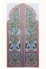 Door Flower Glass Door Home Decor Beautiful Vintage Collectible India