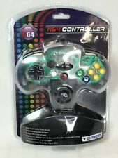 N64 Wired Controller Tomee CLEAR Nintendo 64 N64 Video Game Console System New