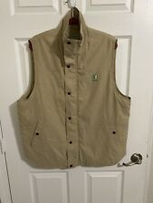 C65 NIKKEN KHAKI TAN BEIGE THERMOWEAR MAGNETIC THERAPY VEST SIZE LARGE