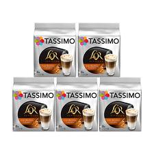 Tassimo T Discs L'OR Espresso Latte Macchiato Caramel Coffee Pods 5 x 8 Drinks