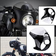 "Motorcycle 7"" Headlight Fairing Screen Retro Cafe Racer Style Drag Racing"