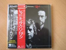 """KING CRIMSON """"Red"""" Le Japon MINI LP HQ CD + DVD"""