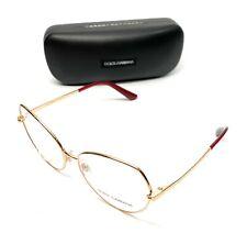 Dolce & Gabbana DG 1320 02 Gold Women Authentic Eyeglasses Frame 57-16