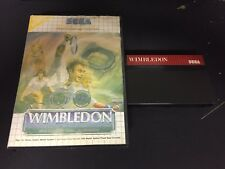 SEGA MASTER SYSTEM : WIMBLEDON