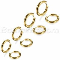 Men Women Polished Stainless Steel Hoop Huggie Earrings Studs Black/Gold/Silver