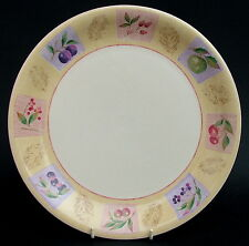 Marks & Spencer Wild Fruits Pattern Large Size Dinner Plates 28cm Look in VGC