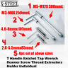 T Handle Ratchet Tap Wrench Reamer Screw Thread Extractors Holder Individual