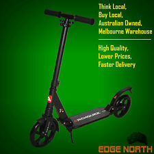 Scooter ADULTS Commuter New Push Kick Scooter Folding dual Suspension BIG Wheel