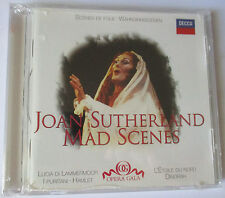 JOAN SUTHERLAND  - MAD SCENES - OPERA GALA CD - NEW