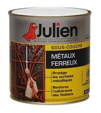 PEINTURE SOUS COUCHE METAUX FERREUX METAL FER 0.5L  JULIEN PROTEGE DE ROUILLE