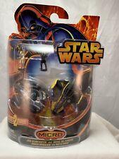 Star Wars Micro Vehicles Jedi Star fighter Starfighter and Droid Tri-fighter NIP