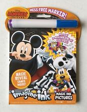 Mickey Halloween Imagine Ink Activity Book - Puzzles Mazes More Trick or Treat