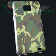 Pellicola+Custodia back cover Mimetica militare per Samsung Galaxy S2 i9100 case