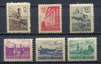 37000) ESTONIA 1941 MNH** German occupation, reconstruction 6V Scott#NB1/NB6
