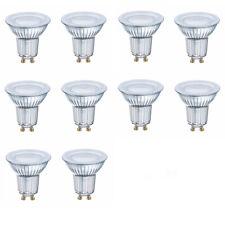 OSRAM LED Star par16 gu10 120 ° vidrio 6,9w = 80w 575lm blanco neutro 4000k nodim 10er
