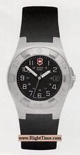 Vintage Victorinox Swiss Army 24495 EXCURSION watch black face rubber strap