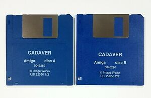 1990 Bitmap Fratelli/Commodore Amiga Cadaver Dt /Engl / Frz A500 Action