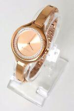Esprit Damen Uhr Stacy rosé gold rosa Edelstahl Steine ES108322003
