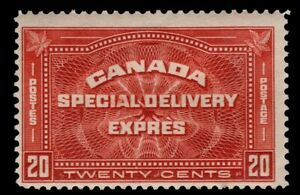 Canada  #E4 20c  MH OG  SPECIAL DELIVERY STAMP-'EXPRES' 1927   FINE