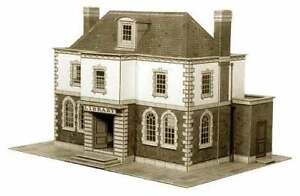 Police Station / Public Library Superquick B25 -OO Building Card kit -