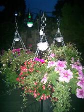 Nuevo Fácil Llenar solar fácil de luz en exclusiva para cestas colgantes y jardín Gratis P + P!!!