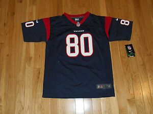 NEW 2013 ANDRE JOHNSON HOUSTON TEXANS YOUTH NFL REPLICA JERSEY LRG