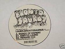 "Lauer Brontosaurus 1 buddy of expert emitto renard + 12"" Record"