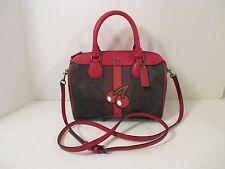 COACH Signature PACMAN Mini Bennett Crossbody Shoulder Bag Purse F56650~$325