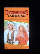 Outrageous Fortune Film Novelisation by Robin Turner (Star, 1971) Paperback
