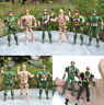 Military Plastic Toy Soldiers Army Men 9cm Figures&Accessories Toy Cool hero