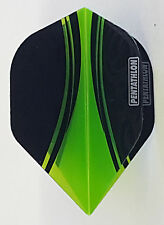 Pentathlon Vizion Swish Green Standard Dart Flights