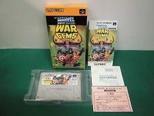 SNES -- MARVEL SUPER HEROES WAR OF THE GEMS -- New. Super Famicom. Japan. 16497