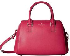 $298 NWT KATE SPADE SELINE PUNCH GREENE STREET LEATHER SATCHEL SHOULDER BAG