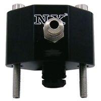 Nitrous Express 16185 Fuel Rail Adapters GM Chrysler EFI Dual Outlets NITROUS EX