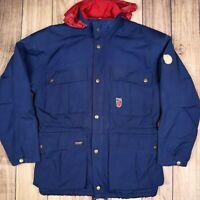 Vintage Fjallraven Mens Thinsulated Ski Jacket Navy Blue Size 42