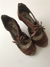 Seychelles Special Edition Whiskey Leather Solo II size 7