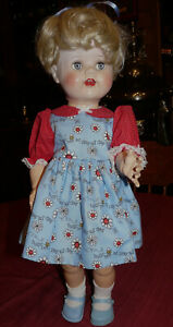 "Ideal 22"" Vintage Saucy Walker Doll"