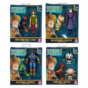 Scooby Doo Scoob! Action Figure Twin Pack - Choice of Pack
