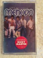 MENUDO WITH RICKY MARTIN CAN'T GET ENOUGH SEALED Cassette Tape 1986