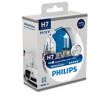 COPPIA LAMPADE AUTO H7 PHILIPS WHITE VISION XENON EFFECT +2X W5W