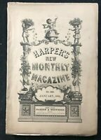 HARPERS NEW MONTHLY - Jan 1881 - Life in a Quaker Town / James Russell Lowell