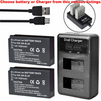 Camera Battery Or LCD Charger EN-EL20 For Nikon Coolpix A Nikon 1 J1 J2 J3 S1 V3