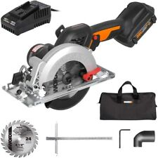 """WORX WX531L 20V 2.0Ah 4-1/2"""" Brushless Cordless Circular Saw Battery and Charger"""
