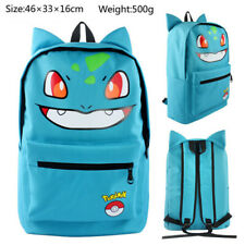 Pokemon Bulbasaur Backpack School Shoulder Bag Unisex Rucksack Laptop Bag Gift