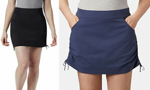 Columbia Women's Plus Anytime Casual Skort Black, Nocturnal XL, 1X, 2X, 3X