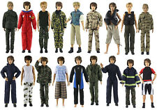 10 Sets Fashion Outfits/Clothes For 12 inch Ken Doll