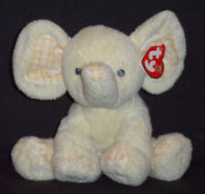 P'NUT the YELLOW ELEPHANT - TY PLUFFIES / BABY TY - MINT with MINT TAG