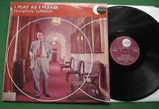 Humphrey Lyttleton I Play As I Please inc Skid Row / Manhattan + ECS 2009 LP