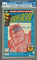 Daredevil #167 CGC 9.6 White Mauler app Frank Miller